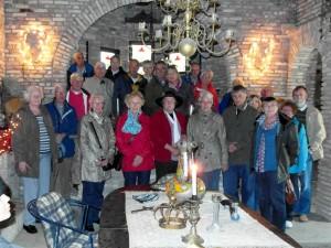 Deelnemers Excursie Stoutenburgh (Klik voor vergroting)